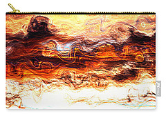 Carry-all Pouch featuring the digital art Jazz by Richard Thomas