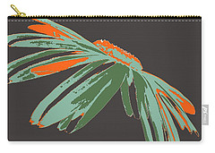 Carry-all Pouch featuring the digital art Jealous Daisy by Dragica  Micki Fortuna