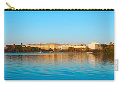 Jefferson Memorial And Washington Carry-all Pouch by Panoramic Images
