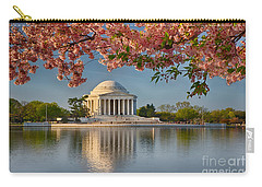 Jefferson Memorial In Spring Carry-all Pouch