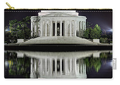 Jefferson Memorial - Night Reflection Carry-all Pouch