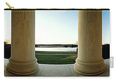 Jefferson Memorial Washington Dc Carry-all Pouch by Panoramic Images