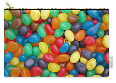 Jelly Beans Carry-all Pouch by Ron Harpham