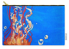 Jellyfish Carry-all Pouch by Marisela Mungia