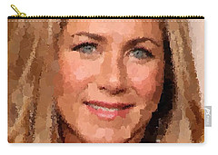 Jennifer Aniston Portrait Carry-all Pouch