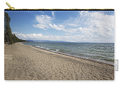 Carry-all Pouch featuring the photograph Yellowstone Lake by Belinda Greb