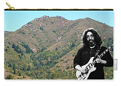 Jerry Garcia And Mount Tamalpais Carry-all Pouch