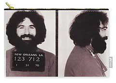Jerry Garcia Mugshot Carry-all Pouch by Bill Cannon