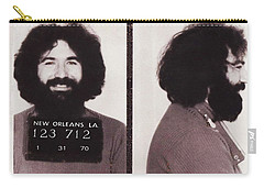 Jerry Garcia Mugshot Carry-all Pouch