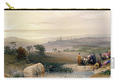 Jerusalem, April 1839 Carry-all Pouch by David Roberts