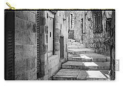 Jerusalem Street Carry-all Pouch