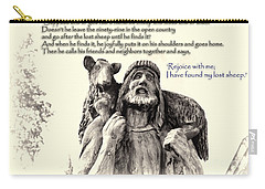 Jesus And Lamb Carry-all Pouch