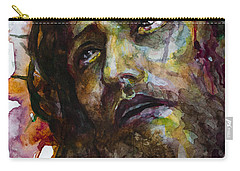 Carry-all Pouch featuring the painting Jesus Christ by Laur Iduc