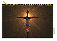Jesus Christ Carry-all Pouch by Michael Rucker