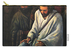 Jesus Healing Beggar Carry-all Pouch