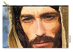 Jesus Of Nazareth Portrait Carry-all Pouch