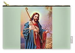 Jesus Shepherd Carry-all Pouch by Munir Alawi