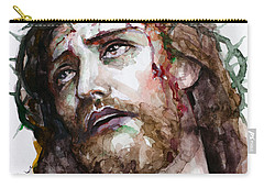 The Suffering God Carry-all Pouch by Laur Iduc