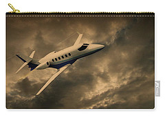 Jet Through The Clouds Carry-all Pouch