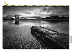 Jetty To Castle Stalker Carry-all Pouch by Dave Bowman