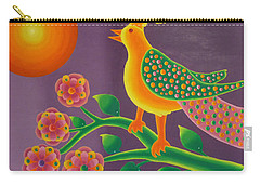 Jewel Bird Carry-all Pouch