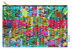 Jewel Stones Sprinkle Abstract  Navinjoshi  Rights Managed Images Graphic Design Is A Strategic Art  Carry-all Pouch