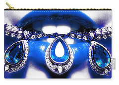 Jewelips Soft Blue Carry-all Pouch