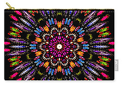 Jewelled Kaleidoscope 1 Carry-all Pouch