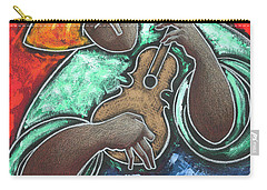 Carry-all Pouch featuring the painting Jibaro Encendi'o by Oscar Ortiz