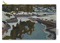 Jim Day Reflections Carry-all Pouch by Phil Chadwick