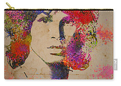 Jim Morisson Watercolor Painting Carry-all Pouch