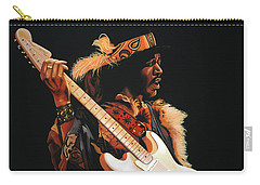 Jimi Hendrix 3 Carry-all Pouch
