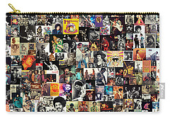 Jimi Hendrix Collage Carry-all Pouch