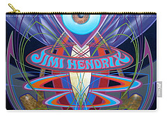 Jimi Hendrix Memorial Carry-all Pouch