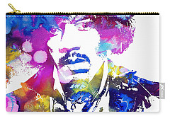 Jimi Hendrix - Psychedelic Carry-all Pouch by Doc Braham