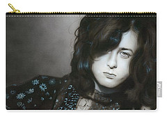 ' Jimmy Page ' Carry-all Pouch by Christian Chapman Art