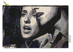 Joan Baez And Bob Dylan Carry-all Pouch
