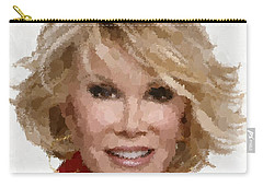 Joan Rivers Portrait Carry-all Pouch