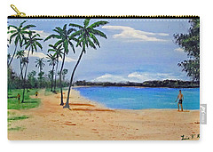 Jobo Beach Carry-all Pouch by Luis F Rodriguez