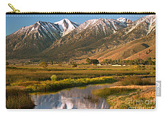 Job's Peak Reflections Carry-all Pouch by James Eddy