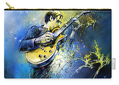 Joe Bonamassa 01 Carry-all Pouch by Miki De Goodaboom