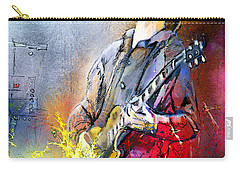 Joe Bonamassa 02 Carry-all Pouch by Miki De Goodaboom