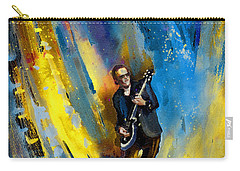 Joe Bonamassa 03 Carry-all Pouch by Miki De Goodaboom