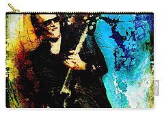 Joe Bonamassa Madness Carry-all Pouch by Miki De Goodaboom