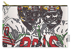 Joe Montana And Jerry Rice Carry-all Pouch