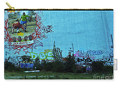 Carry-all Pouch featuring the photograph Joga Bonito - The Beautiful Game by Andy Prendy