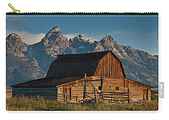 Carry-all Pouch featuring the photograph John And Bartha Moulton Barn by Jeff Goulden