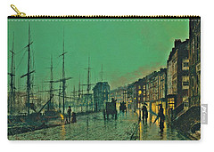 John Atkinson Grimshaw Shipping On The Clyde 1881 Carry-all Pouch