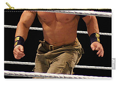 John Cena In Action Carry-all Pouch