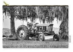 John Deer Tractor Under The Old Cedar Carry-all Pouch